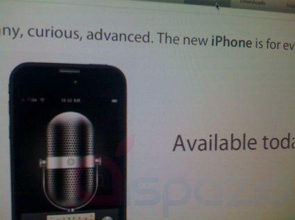 Appleサイト内にあったとされる新型iPhoneの写真