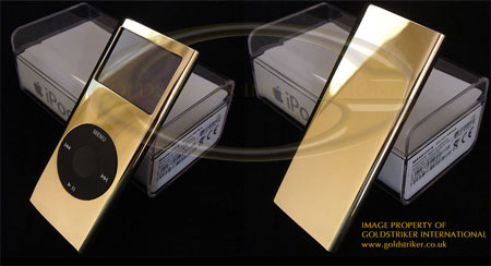 純金なiPod nano