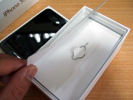 iPhone 3GSのSIMキー