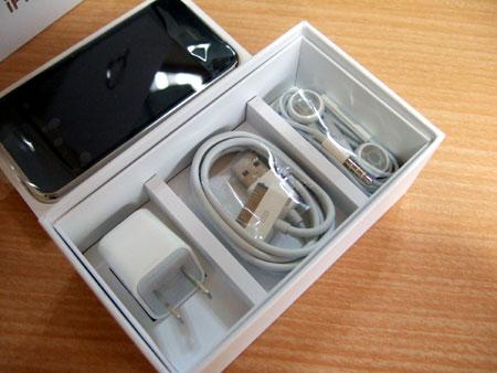iPhone 3GSのおなじみの付録