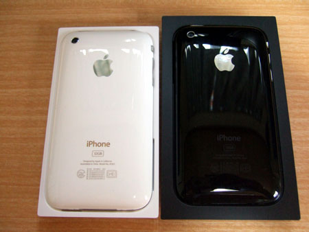 iPhone 3GSの裏