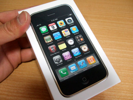 iPhone 3GSの箱