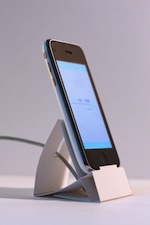 紙製のiPhone&iPod touch Dock