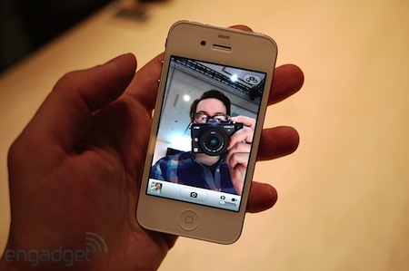 iPhone 4 マイハンド