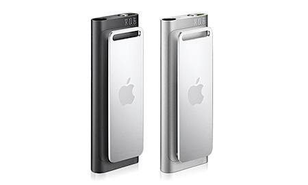 iPod Shuffleの特徴。