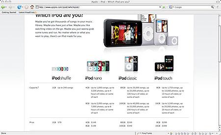 第六世代iPodがついに発表。iPod Touchなど新しく追加。