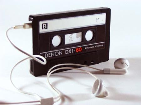 カセットテープ型のiPod nanoケース