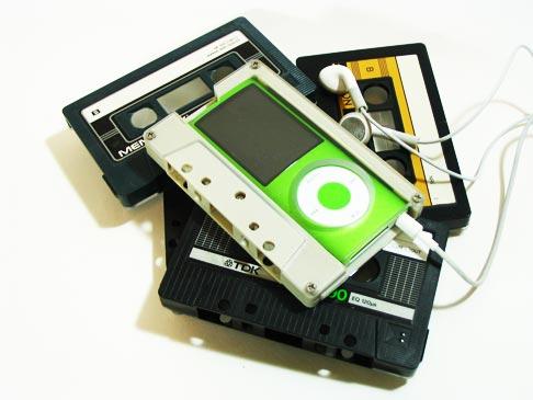 カセットテープ型iPod nanoケース2