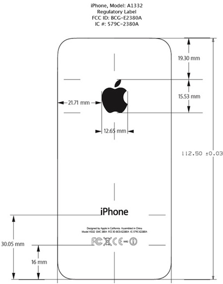 iPhone 4 FCC