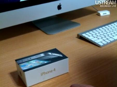iPhone 4 パッケージ