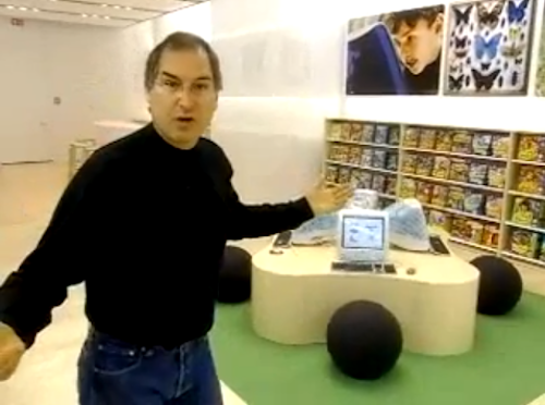 Jobs presen apple store movie