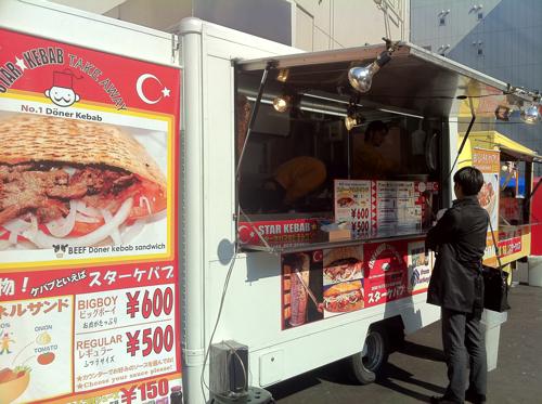 東京 秋葉原にあるスターケバブで「スター・ドネルサンド レギュラー」を喰らう!