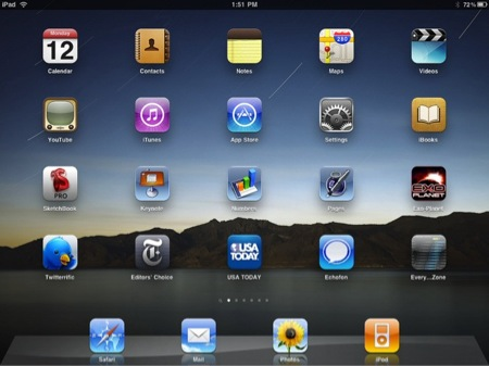 iPadアプリが二万本を突破。