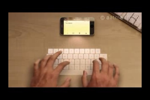 こうなったらいいなiPhone 5!テーブルすべてがキーボードとか胸熱!