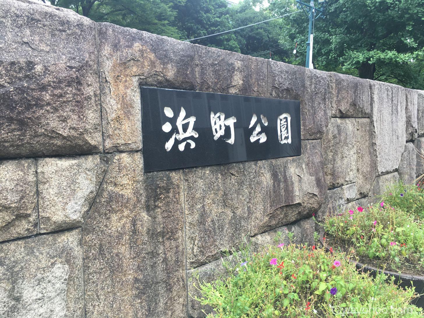 ワンリキーの巣、日本橋浜町公園