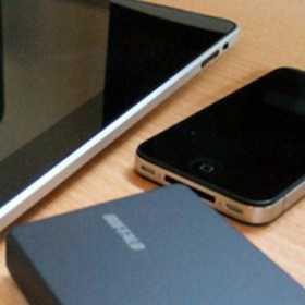 iPhoneとiPadでdocomo+バッファローの無線LANルータPortable Wi-Fiとソフトバンク3Gを速度比較してみた