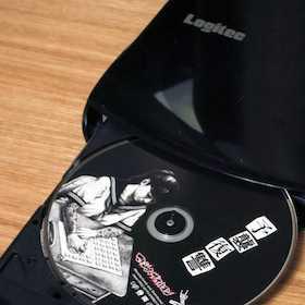 無線でDVDをiPhone/iPadで視聴できるLogitecのWi-Fi DVDドライブがメッチャ楽!