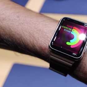 Apple Watchが実際に動いている様を見られるデモ動画。