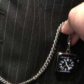 これはやってみたい!Apple Watchを懐中時計にカスタマイズ!