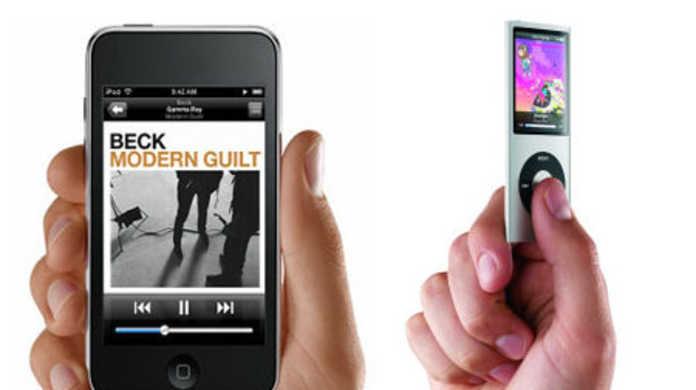 超薄くなった新iPodたち。iPod touch&iPod nanoがスタイルも価格もさらにスリムに進化。