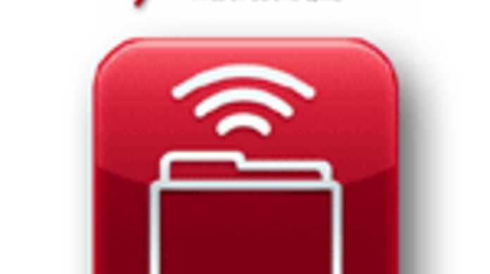iPhoneを無線ハードディスク化するアプリ「Air Sharing」の使い方。