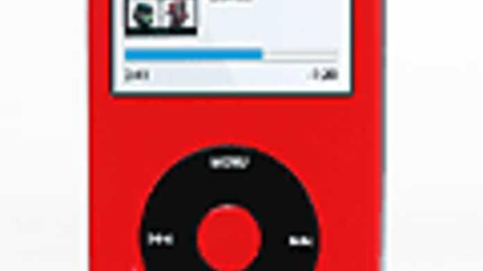 iPodvideoをいろんな色をチョイスして購入できるページ。