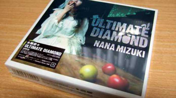 水樹奈々の新アルバム「ULTIMATE DIAMOND」の初回限定版を特典狙ってアニメイトで買ってきましたー!