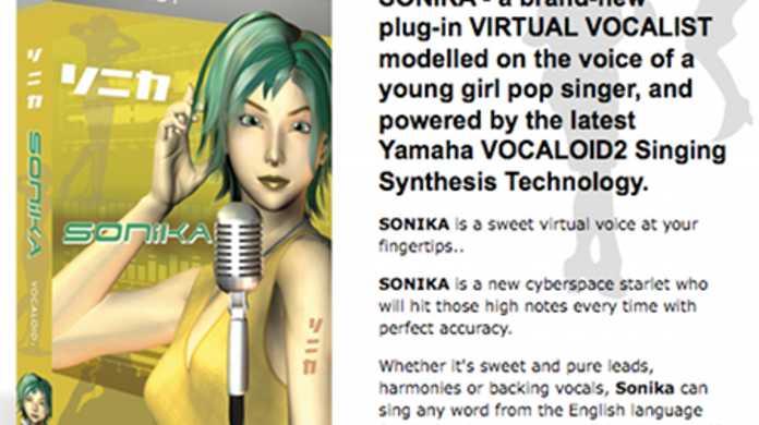 初音ミクの海外版!?新ボーカロイド「ソニカ」が登場。
