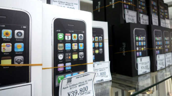 iPhone 3Gの中古が売れているそうです。