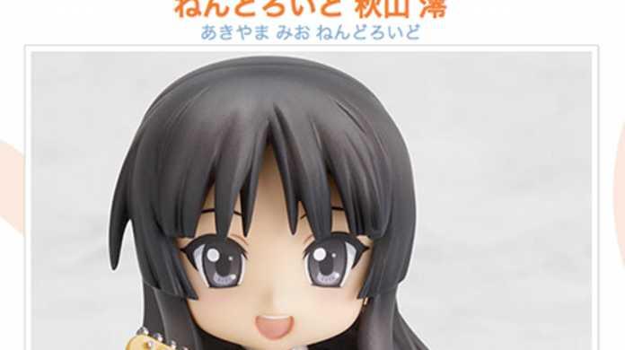 けいおん!の秋山澪のねんどろいどが11月に発売。主人公の平沢唯は12月に。