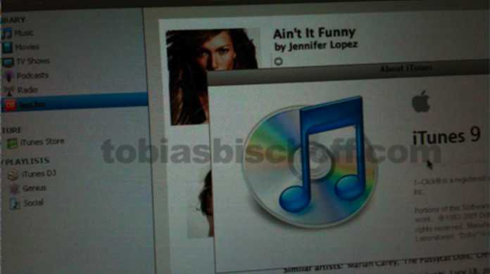 これがiTunes9のスクリーンショット!? Last.fmが標準搭載か!?