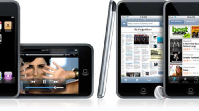 iPod touch、3代目から64GB版が追加され価格は2万〜4万の間になるかも