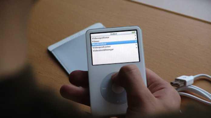 iPod classicはおなくなりになる!?