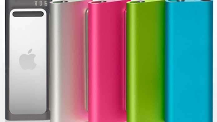 新型iPod shuffleが発売。5色+αのバリエーションに。価格も1000円程値下げ。