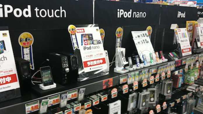 新型iPod nano、touch、shuffle、classicを触りにいってきましたフォトレポート。(機能的な話は無しの方向でw)