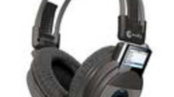 iPod nanoをグサリとさして聴くヘッドホン「iDJ」とは?