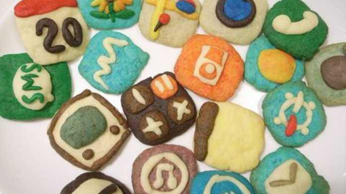 愛のiPhoneクッキー!!