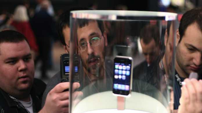 iPhone 4Gがテストなう!?
