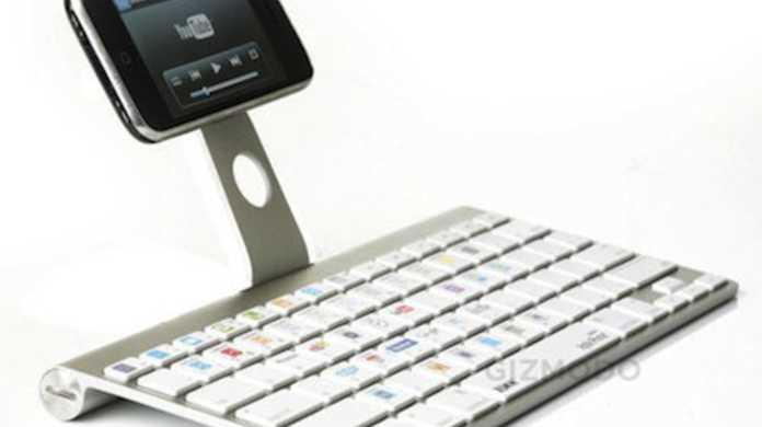 iPhone専用Bluetoothキーボード「iKeyboard」なるものがでるらしい。