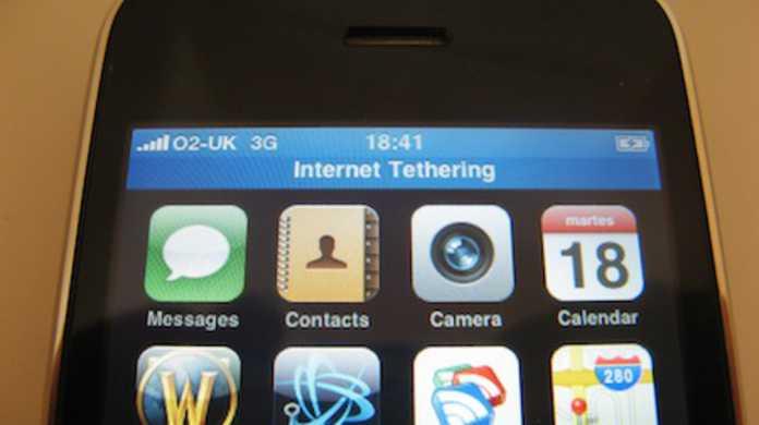 中国のiPhone 3GSはインターネットデザリングができちゃうらしい。
