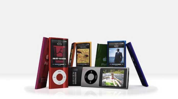 第5世代iPod nanoソフトウェア1.02がリリース。Podcastの再生速度の変更が可能に。