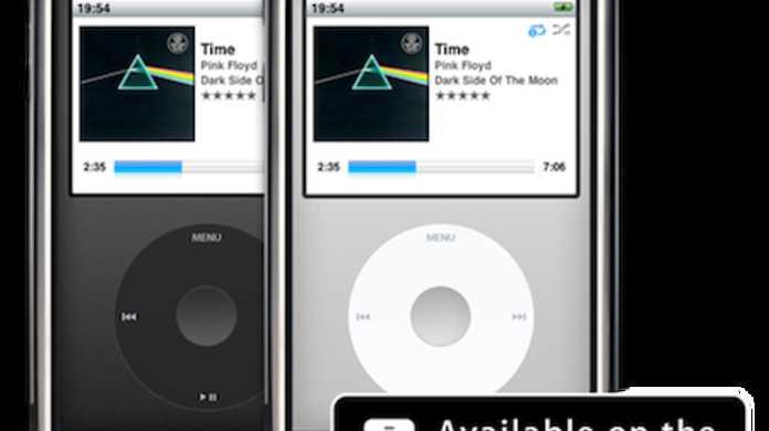 iPhoneの中にiPod classicが現れるアプリが近々リリース。