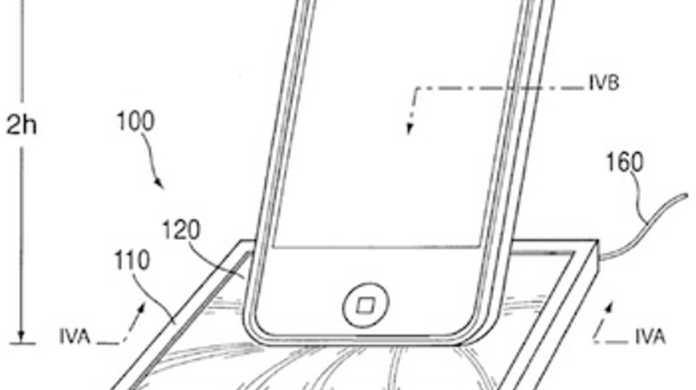 スポンジのようなDock!? Apple、iPod/iPhone用のユニバーサルDockの特許を出願。