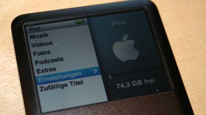 iTunes9、iPod classicと正常同期出来ない不具合ありで現在調査中。