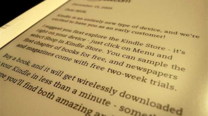 Amazon、Kindle for iPadのリリースを予告。
