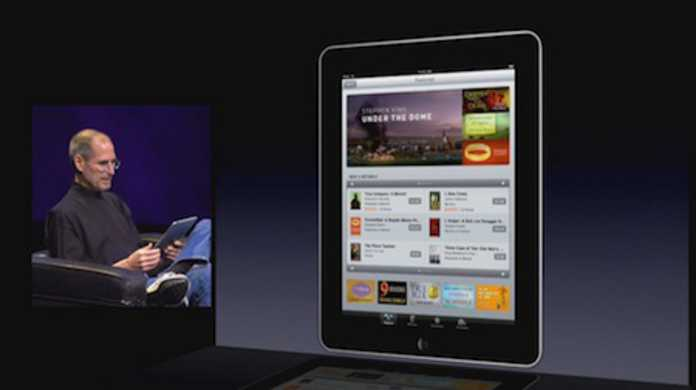 iPad App Storeのスクリーンショットが登場。