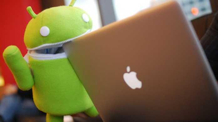 Apple、Android が iPhone を抜いたというのはおかしいと異議を唱える。