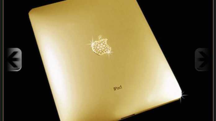 黄金のiPadが登場! その価格たるや約2,000万円なりっ!