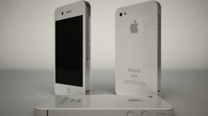 2010年の新型iPhone ホワイトは全部真っ白け!?