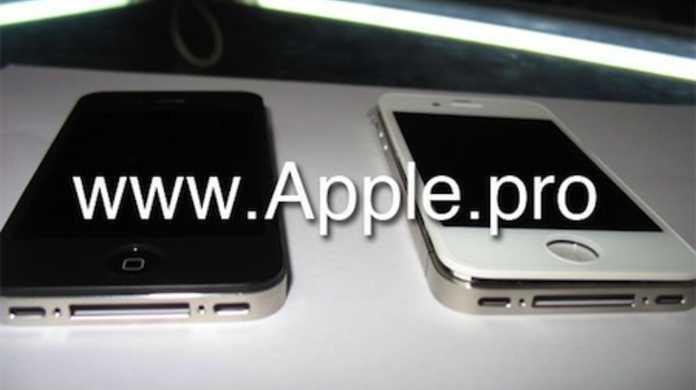 本物か? iPhone 4G ホワイトのリーク画像キタコレ!?